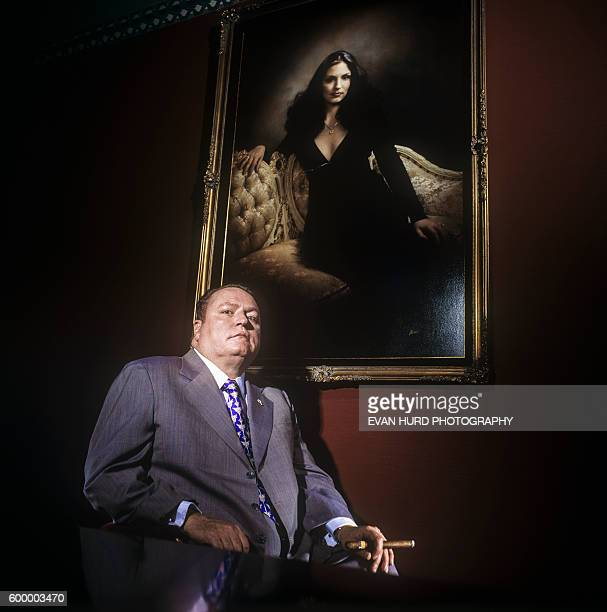Larry Flynt, American publisher and the president of Larry Flynt Publications .