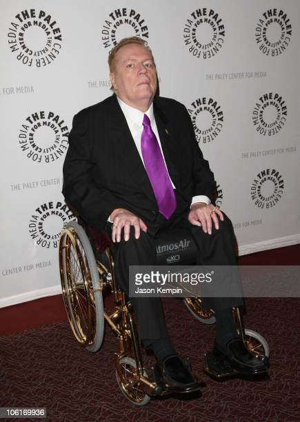 """Larry Flynt attends the premiere of """"Larry Flynt: The Right To Be Left Alone"""" at the Paley Center for Media on October 26, 2007 in New York City."""