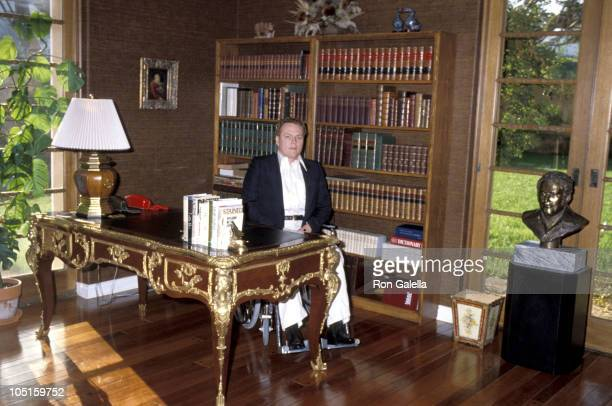 Larry Flynt during Exclusive Photo Session in the Flynt home - March 11, 1979 at Flynt Home in Los Angeles, California, United States.