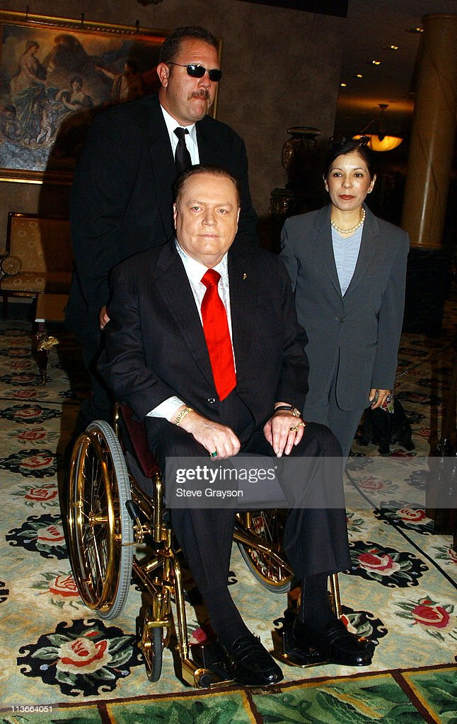 Publisher Larry Flynt Announces His Official Run For California Governor's