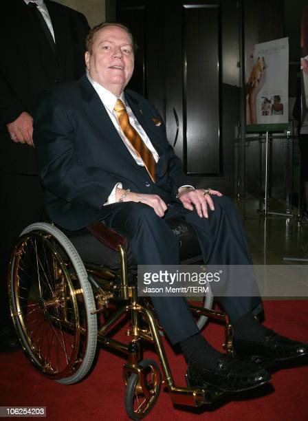 """Larry Flynt during """"Save A Heart Day"""" Fundraising Gala - Arrivals at The Beverly Hills Hilton Hotel in Beverly Hills, California, United States."""