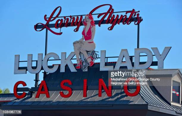 Larry Flynt's Lucky Lady Casino renovations are nearing completion in Gardena, CA on Thursday, March 16, 2017. The casino, formerly the...