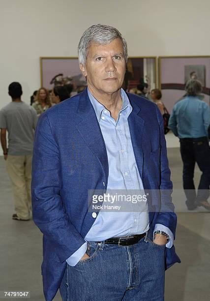 Larry Gagosian at the Gagosian Gallery in London United Kingdom