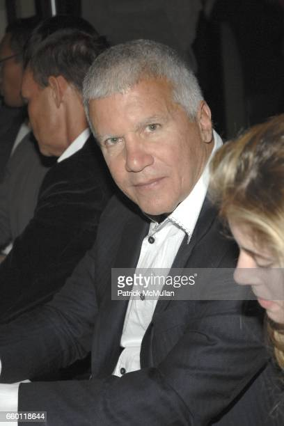 Larry Gagosian attends SHE Images of women by Wallace Berman and Richard Prince Opening at Michael Kohn Gallery on January 15 2009 in Beverley Hills...