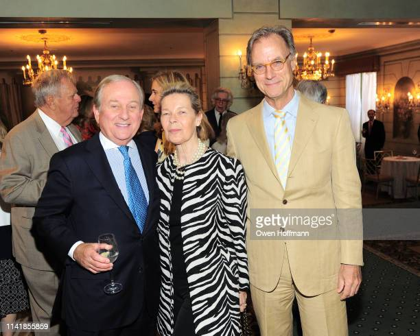 Larry Graev Mona Arnold and Greg Arnold attend Fountain House Symposium And Luncheon at The Pierre Hotel on May 6 2019 in New York City