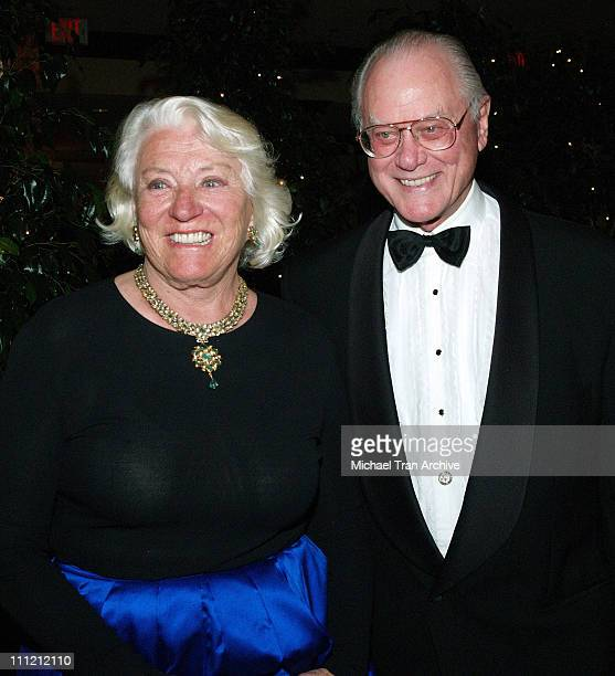 Larry Hagman and wife Maj during The Thalians 50th Anniversary Musical Extravaganza Gala Arrivals at Hyatt Regency Century City Plaza in Los Angeles...