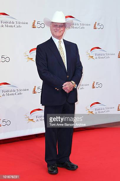 Larry Hagman attends the opening night of the 2010 Monte Carlo Television Festival held at the Grimaldi Forum on June 6, 2010 in Monte-Carlo, Monaco.