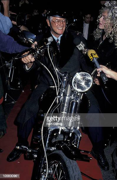 Larry Hagman during Grand Opening of The Harley Davidson Cafe at Harley Davidson Cafe in New York City New York United States
