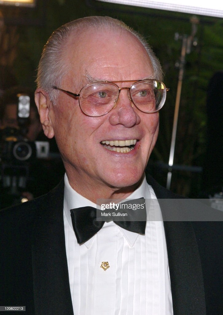 Larry Hagman during The 15th Annual Night of 100 Stars Oscar Gala - Arrivals at The Beverly Hills Hotel in Beverly Hills, California, United States.