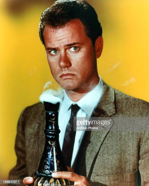 Larry Hagman in publicity portrait for the television series 'I Dream Of Jeannie' Circa 1962