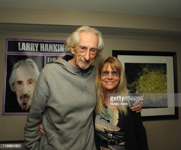 Larry Hankin and Cindy Pickett attend the Chiller Theatre Expo Spring 2019 at Parsippany Hilton on April 27 2019 in Parsippany New Jersey