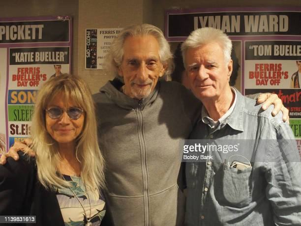 Larry Hankin Cindy Pickett and Lyman Ward attend the Chiller Theatre Expo Spring 2019 at Parsippany Hilton on April 27 2019 in Parsippany New Jersey