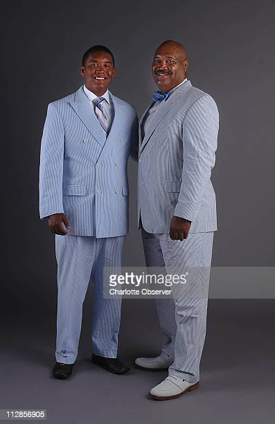 Larry Hayes right and son Tyler model their seersucker suits When worn properly the seersucker suit says Southern sophistication but done wrong one...