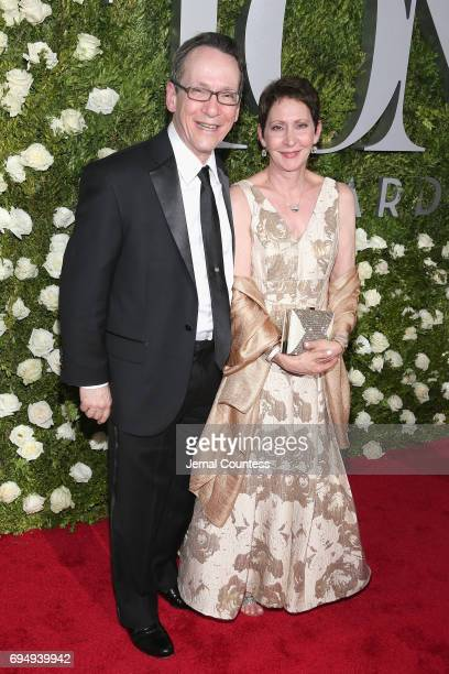 Larry Hochman and Diane Hochman attend the 2017 Tony Awards at Radio City Music Hall on June 11 2017 in New York City