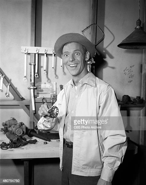 SHOW Larry Hovis as Gilly Walker in episode 'Goober Takes a Car Apart' Image dated November 16 1964