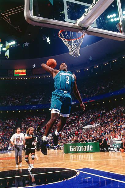 Larry Johnson of the Charlotte Hornets