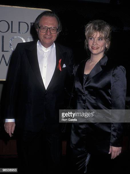 Larry King and Cyndy Garvey