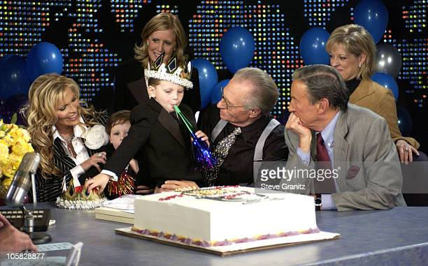 Larry King and family and Nancy Grace and Mike Wallace