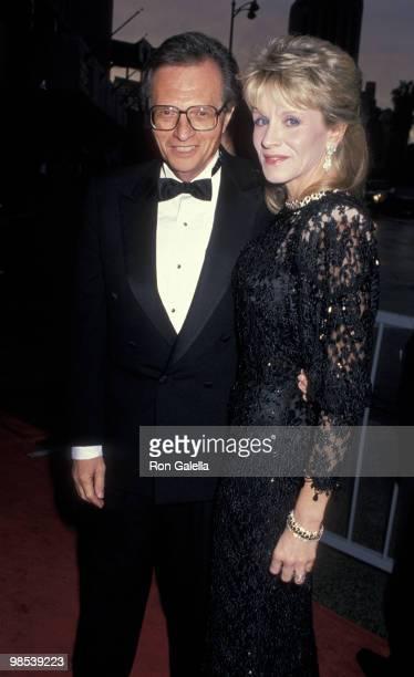Larry King and Julia Alexander