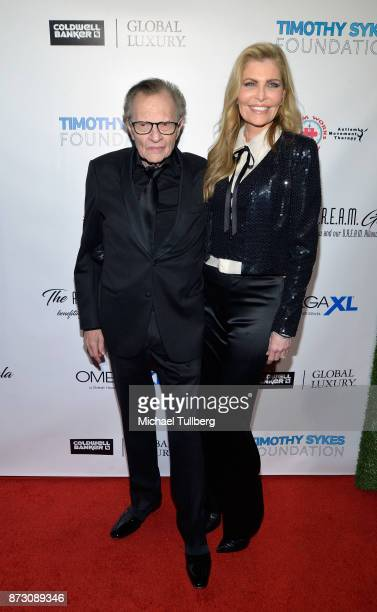 Larry King and Shawn King attends AMT's 2017 DREAM Gala at Montage Beverly Hills on November 11 2017 in Beverly Hills California