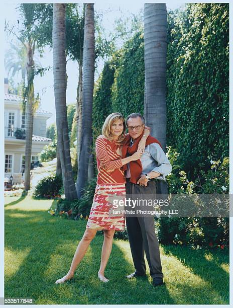 Larry King and Shawn Southwick Arm in Arm