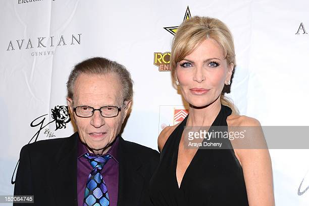 Larry King and Shawn Southwick arrive at the Brent Shapiro Foundation The Summer Spectacular on September 15 2012 in Beverly Hills California