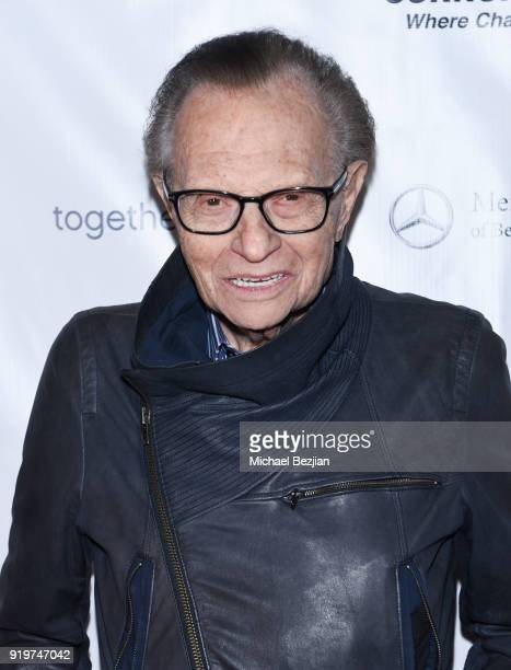 Larry King attends '90 Minutes of Solutions' Presented by Seanne N Murray Enterprises on February 17 2018 in Los Angeles California
