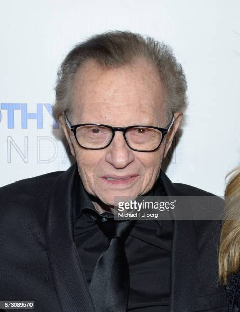 Larry King attends AMT's 2017 DREAM Gala at Montage Beverly Hills on November 11 2017 in Beverly Hills California