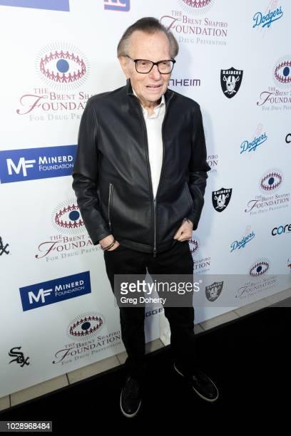 Larry King attends The Brent Shapiro Foundation Summer Spectacular on September 7 2018 in Beverly Hills California