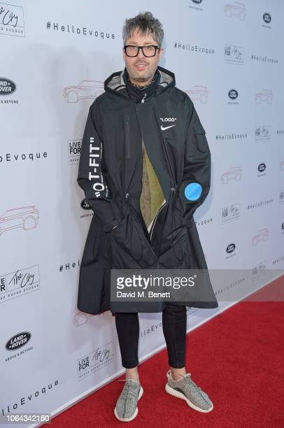 Larry King attends the World Premiere of the new Range Rover Evoque at The Old Truman Brewery on November 22 2018 in London England