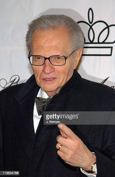 Larry King during The 2005 Princess Grace Awards at Cipriani 42nd Street in New York City, New York, United States.