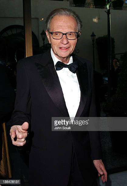 Larry King during The Larry King Cardiac Foundation Gala at The Regent Beverly Wilshire Hotel in Beverly Hills, California, United States.