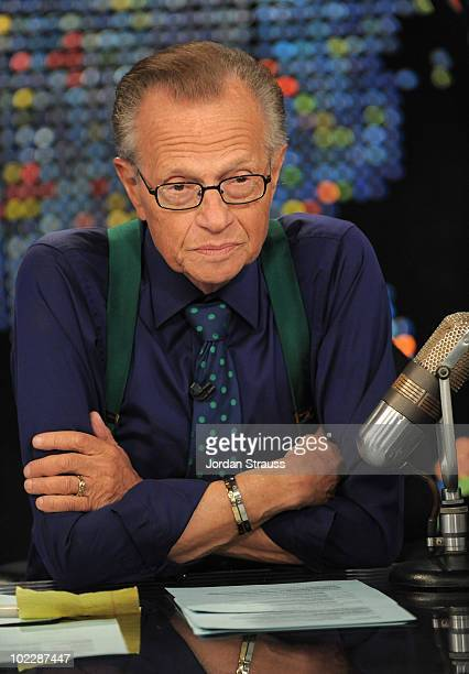 Larry King speaks during Larry King Live: Disaster in the Gulf Telethon held at CNN LA on June 21, 2010 in Los Angeles, California. 20096_003_0136.JPG