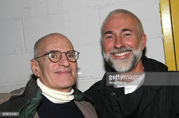 Larry Kramer and partner David Webster *Exclusive*