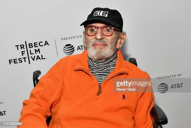 Larry Kramer attends Tribeca Celebrates Pride Day at 2019 Tribeca Film Festival at Spring Studio on May 4 2019 in New York City
