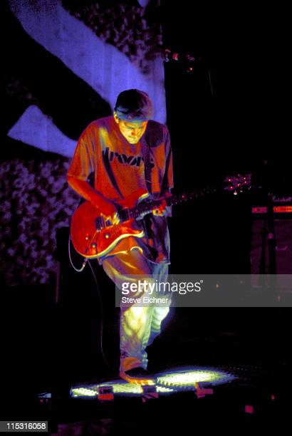 Larry LaLonde of Primus during Lollapalooza 1993 - Waterloo Village at Waterloo Village in Stanhope, New Jersey, United States.