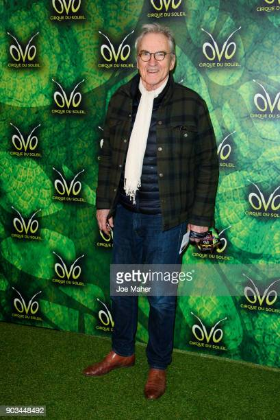 Larry Lamb arriving at the Cirque du Soleil OVO premiere at Royal Albert Hall on January 10 2018 in London England