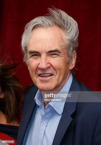 Larry Lamb attends 'An Audience With Michael Buble' at The London Studios on May 3, 2010 in London, England.