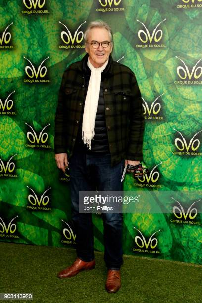 Larry Lamb attends the Cirque du Soleil OVO premiere at Royal Albert Hall on January 10 2018 in London England