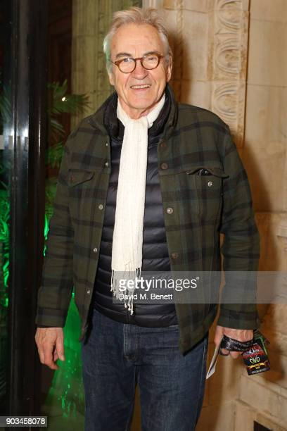 Larry Lamb attends the Opening Night performance of 'Cirque Du Soleil OVO' at the Royal Albert Hall on January 10 2018 in London England
