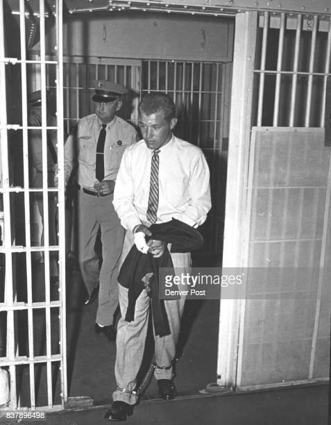 Larry Larson is back in Chains He and John C McLean Jr were recaptured Credit Denver Post