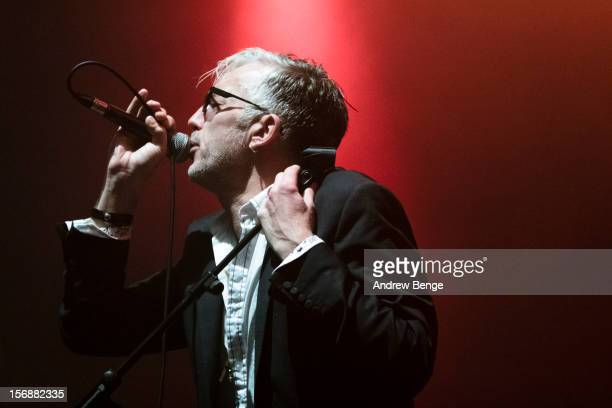 Larry Love of Alabama 3 performs at 02 academy on November 23 2012 in Leeds England