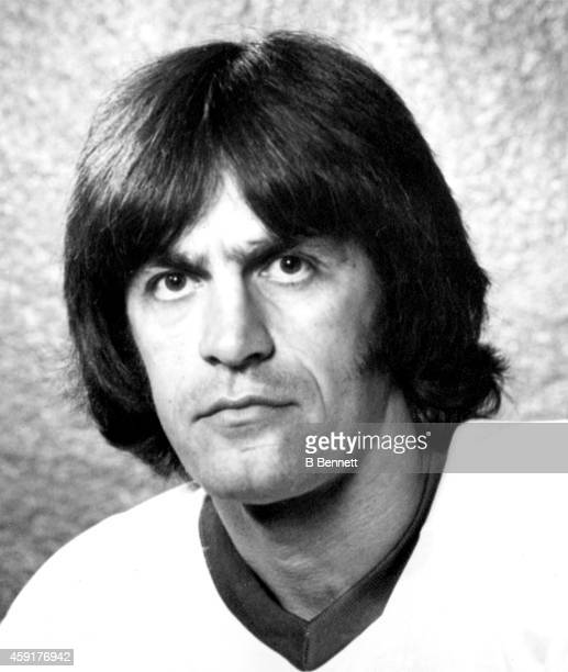 Larry Lund of the Houston Aeros poses for a portrait circa 1977