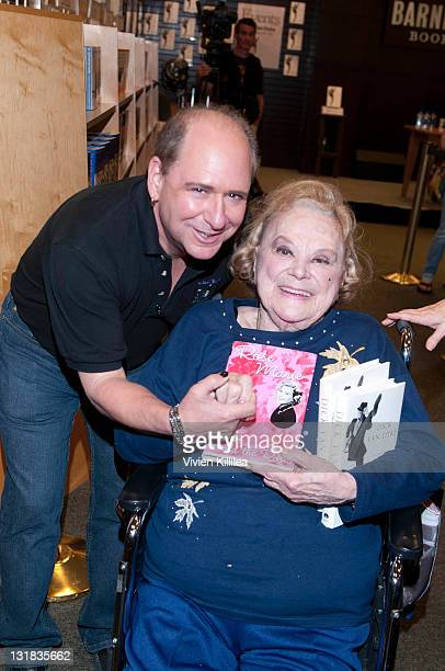 """Larry Matthews and Rose Marie, attend Dick Van Dyke Signs Copies Of His Book """"My Lucky Life In and Out of Show Business"""" at Barnes & Noble bookstore..."""