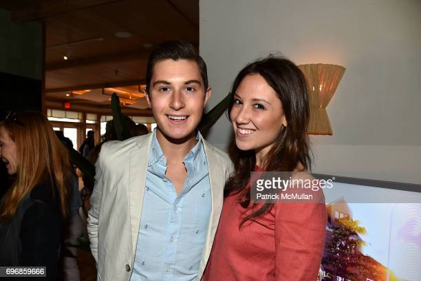 Larry Milstein and Toby Milstein attend Cocktails to Learn About The Sag Harbor Cinema Project at Le Bilboquet on June 16 2017 in Sag Harbor New York
