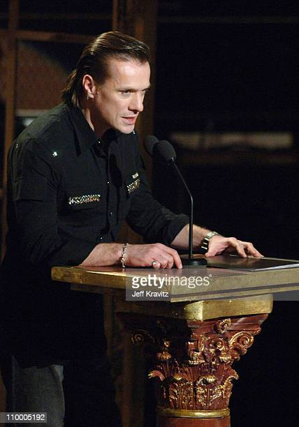 Larry Mullen Jr of U2 inductee during 20th Annual Rock and Roll Hall of Fame Induction Ceremony Show at Waldorf Astoria Hotel in New York City New...
