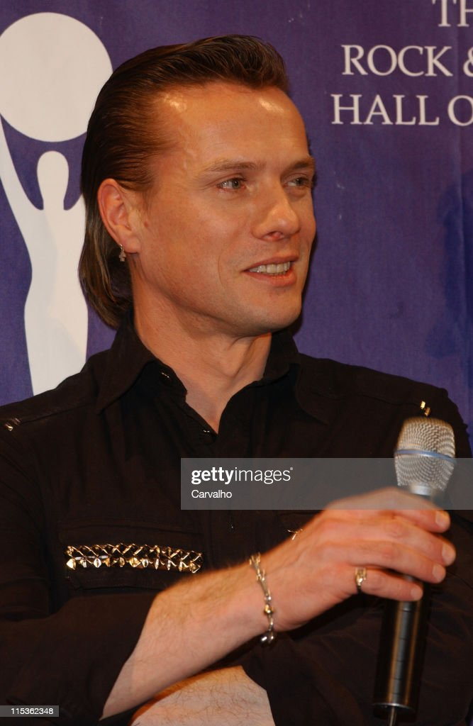 Larry Mullen Jr. of U2, inductee during 20th Annual Rock and Roll Hall of Fame Induction Ceremony - Press Room at Waldorf Astoria Hotel in New York City, New York, United States.