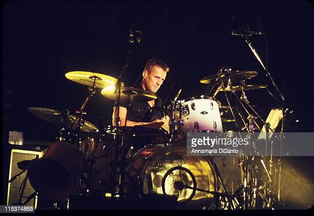 Larry Mullen Jr of U2 Live In Concert during U2 In Concert At Staples Center Los Angeles at Staples Center in Los Angeles California United States
