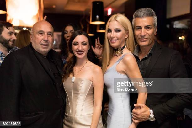 Larry namer Amber Martinez Medi eM and Model Dustin Quick attend the Fashioniserscom Presents The Los Angeles Debut Of Lecoanet Hemant At 'One Night...