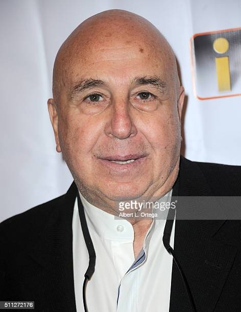Larry Namer Founder of E Entertainment arrives for the InfoList PreOscar Soiree And Birthday Party for Jeff Gund held at OHM Nightclub on February 18...